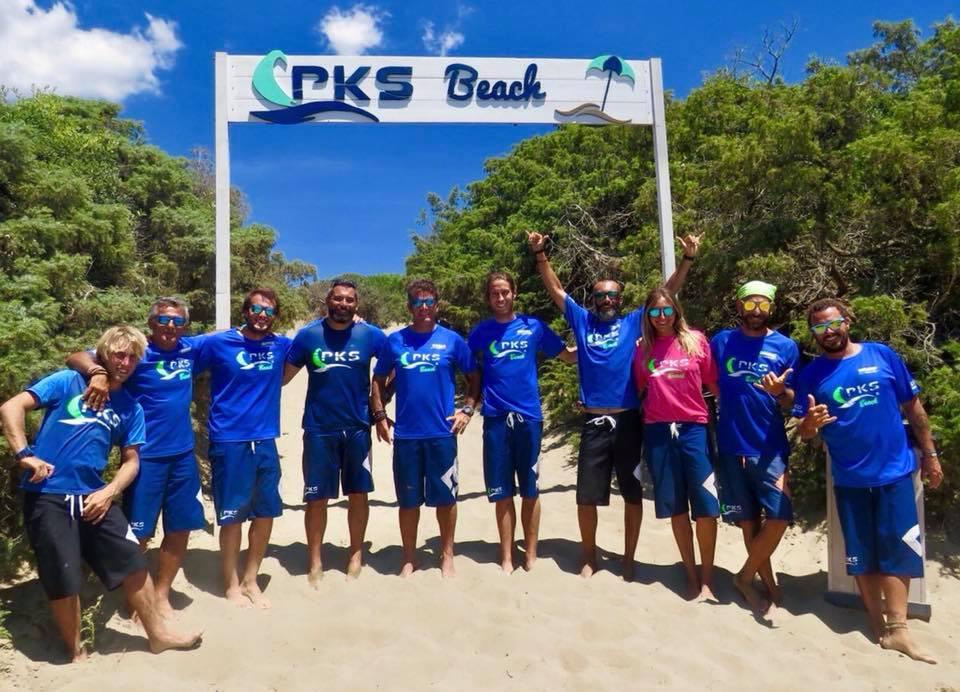 spiaggia kitesurf pks beach casitglione